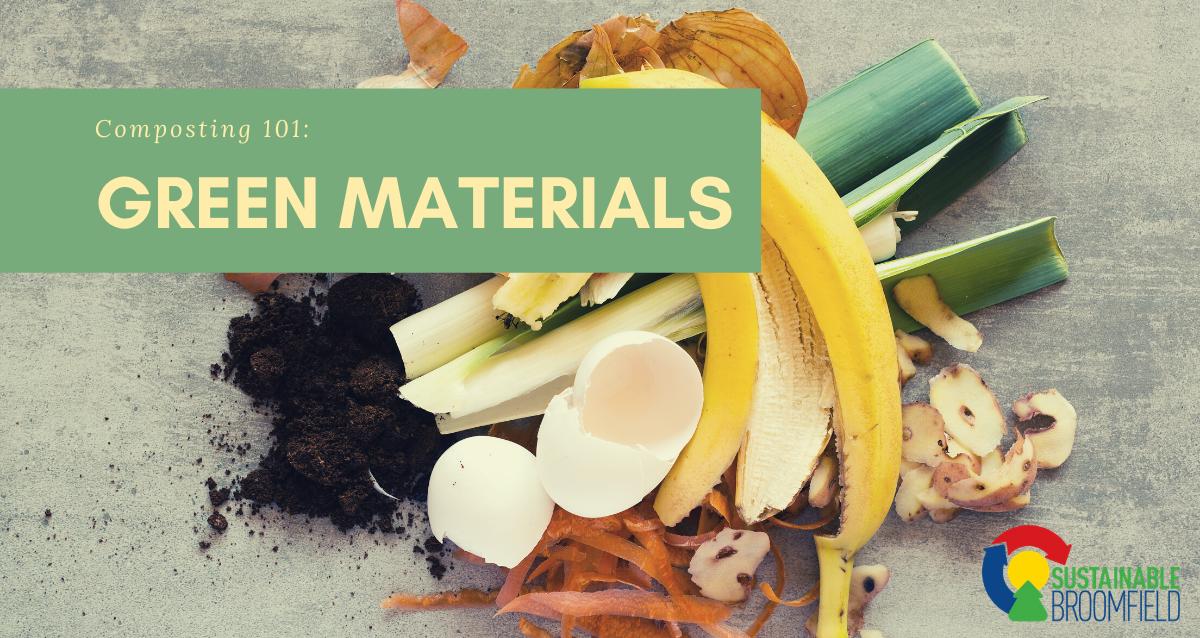 Green Materials: Composting 101