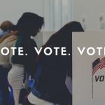 Vote. Vote. Vote.