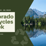 Colorado Recycles Week – November 16 – 20, 2020